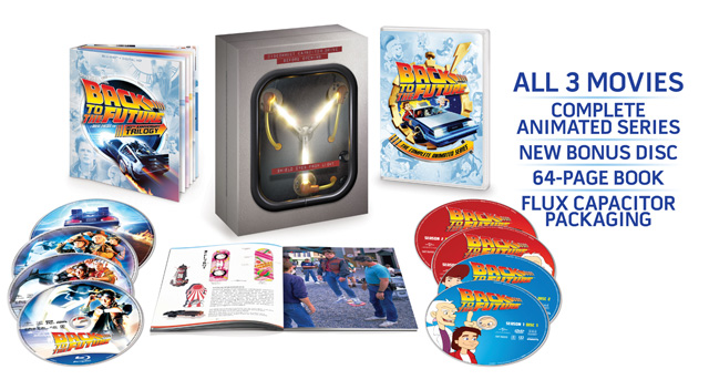 Back to the Future 30th Anniversary Trilogy Blu-ray Coming