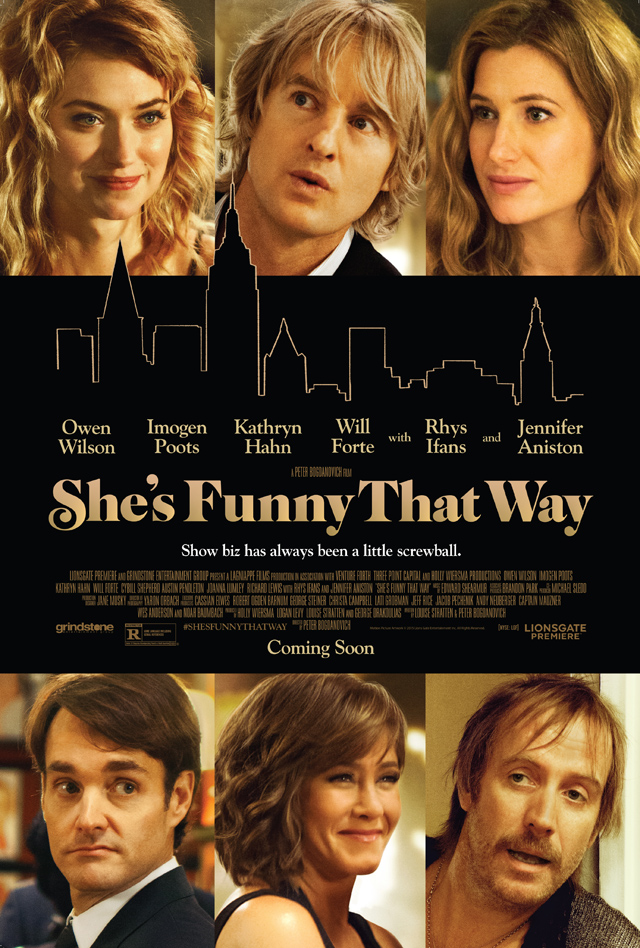 ComingSoon.net has your exclusive first look at the She's Funny That Way poster!