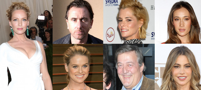Meet the cast of the new film, The Brits are Coming.