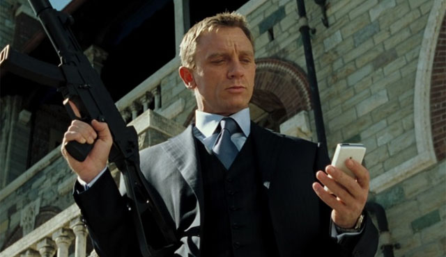 Casino Royale is the first of the James Bond Daniel Craig movies.