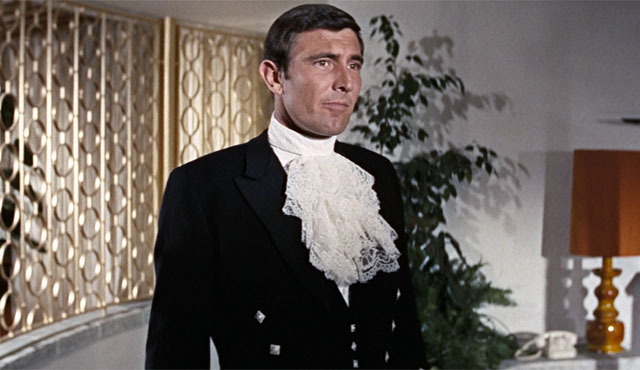 George Lazenby is the only on one the James Bond movies list to get just one film.