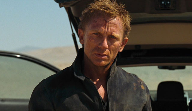 Quantum of Solace is the second of the James Bond Daniel Craig movies.