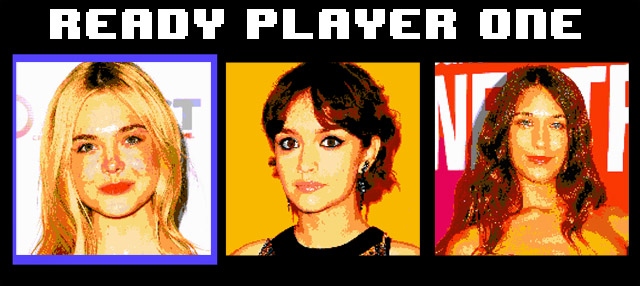 Three actresses have been named to the Ready Player One short list.