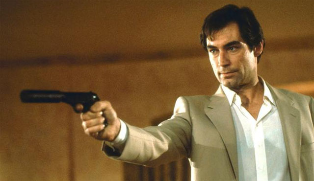 Timothy Dalton has a few movies on the James Bond movies list.
