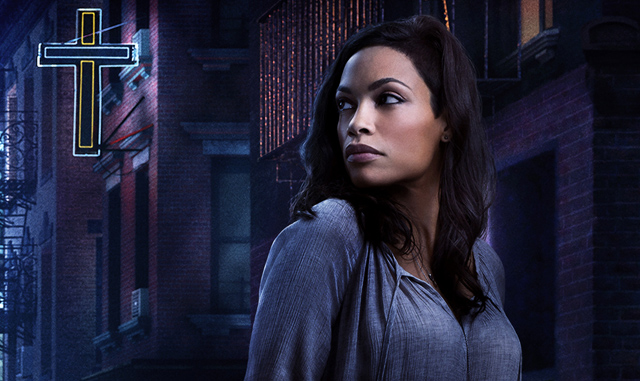 Rosario Dawson's Claire Temple is part of the Luke Cage cast.