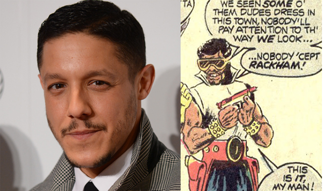 Theo Rossi will play the Luke Cage villain Shades on the upcoming Netflix series.