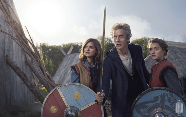 Doctor Who Trailers for The Woman Who Lived, Featuring Maisie Williams.