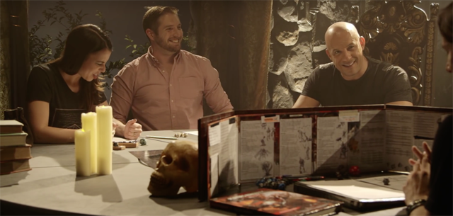 Vin Diesel plays Dungeons & Dragons as his character from The Last Witch Hunter.