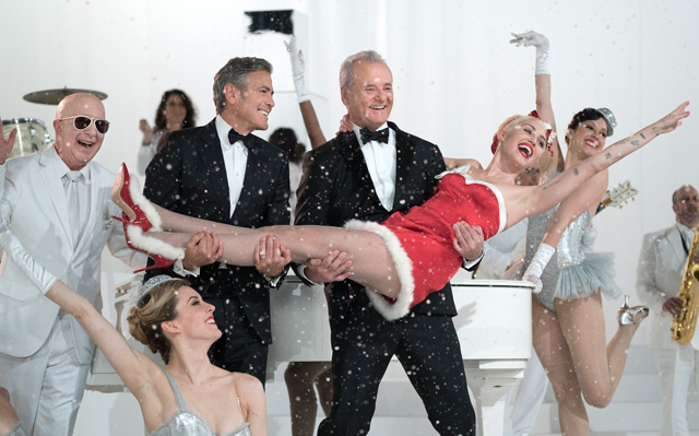 A Very Murray Christmas Trailer: Bill Murray Hangs with George Clooney & More!