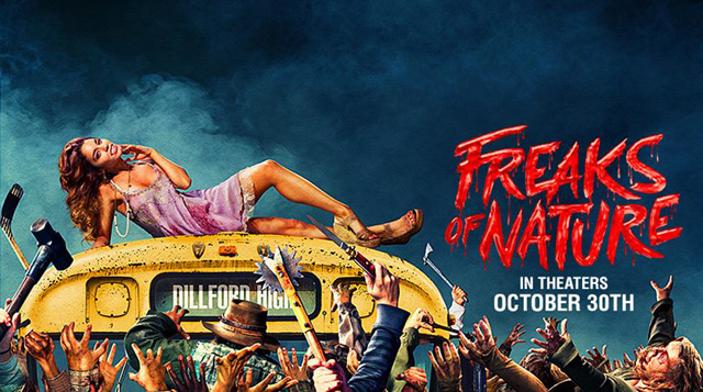 Freaks of Nature Red Band Trailer Pits Humans, Vampires, Zombies and Aliens.