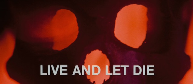 Live and Let Die is another of the best James Bond theme songs.