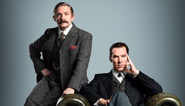 The Sherlock special trailer features the right duo at the wrong time.