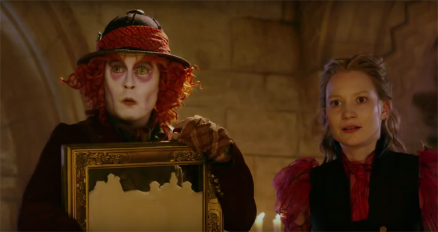 60 Alice Through the Looking Glass Trailer Screenshots!