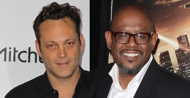 Forest Whitaker and Vince Vaughn will headline The Archbishop and the Antichrist.