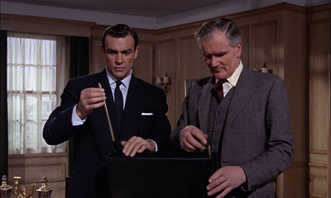 This briefcase from From Russia with Love was one of the best James Bond Gadgets.