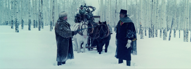 Hateful Eight Featurette: Tarantino Explains the Glories of 70mm