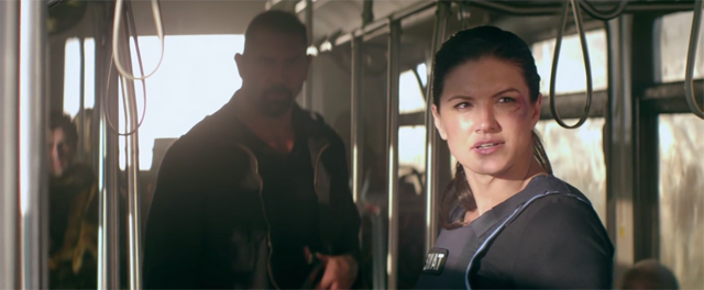 The list of Gina Carano movies also includes Heist.