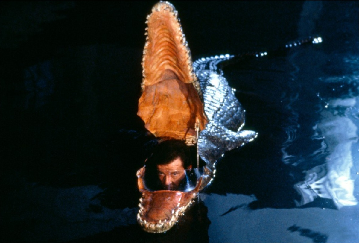 The Octopussy crocodile submarine is one of the best James Bond gadgets.