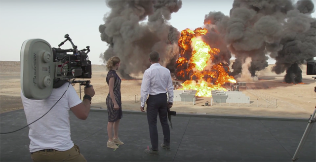 SPECTRE Breaks Guinness World Record for Largest Film Stunt Explosion