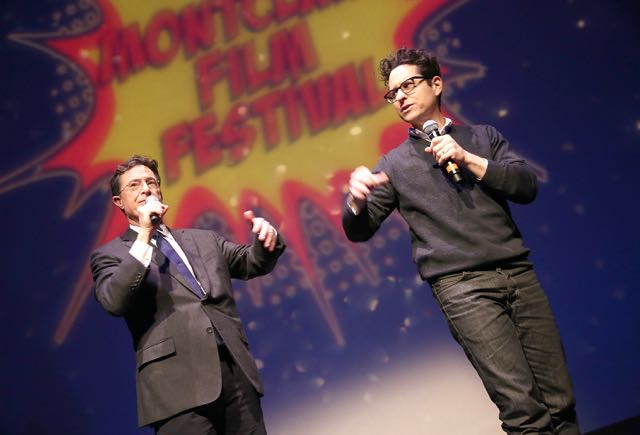 Stephen Colbert and J.J. Abrams Nerded Out in Newark, New Jersey.