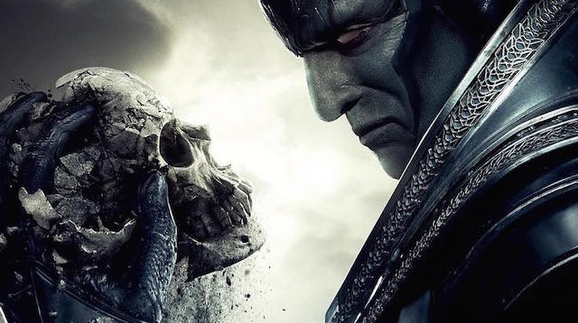 Behold, the coming of En Sabbah Nur on the new X-Men: Apocalypse poster.