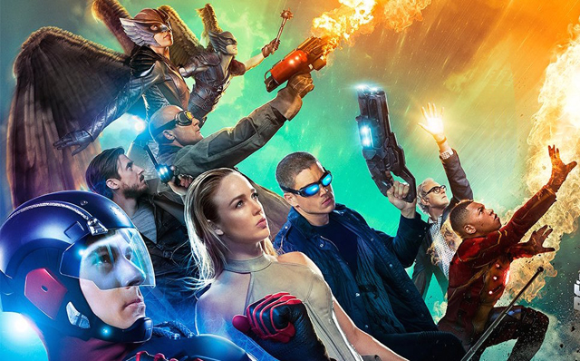 Dc S Legends Of Tomorrow Wallpaper And Background Image: Legends Of Tomorrow Trailer: Their Time Is Now