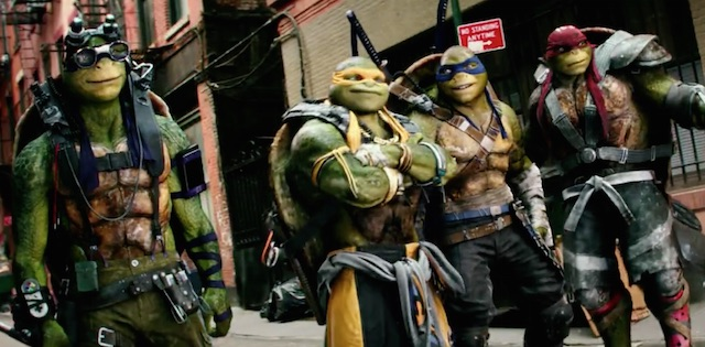 The turtles are back in the Teenage Mutant Ninja Turtles: Out of the Shadows trailer!
