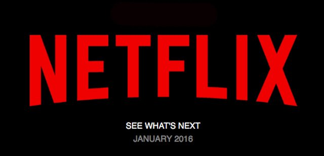 Netflix: Movies and TV Shows Coming in January 2016.