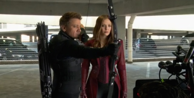 Go behind the scenes with a Captain America: Civil War featurette.