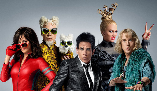 Zoolander Shows Face in the Face of Darkness in New Spots.