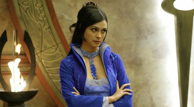 Her turn as Adria on Stargate is another entry on the Morena Baccarin movies and TV list.