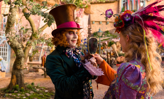 Alice Through the Looking Glass, Jungle Book, Queen of Katwe and More 2016 Disney Photos.
