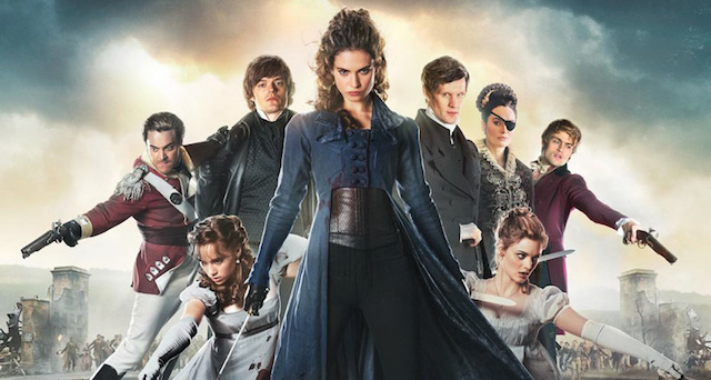 Watch a Pride and Prejudice and Zombies clip.