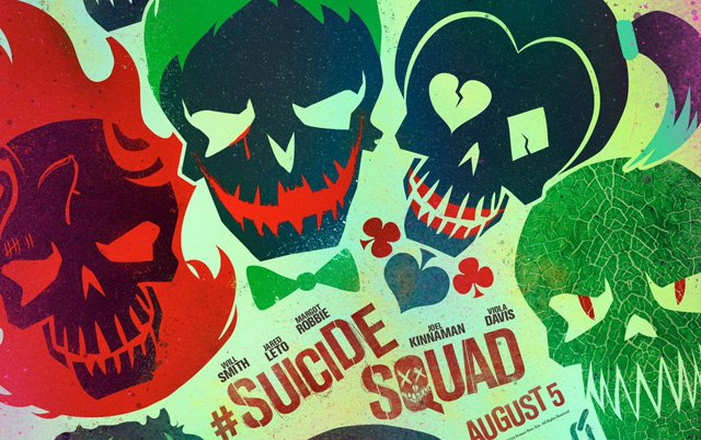 The First Suicide Squad Posters Revealed!