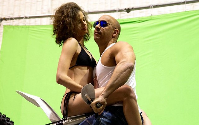 Vin Diesel Photos from the xXx: The Return of Xander Cage Set.