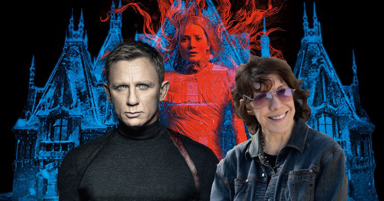 Crimson Peak, SPECTRE and Grandma all hit Blu-ray February 9, 2016.