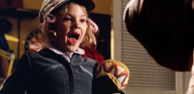 ET is the very first entry on our list of Drew Barrymore movies!