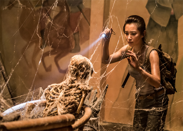 Li Bingbing and Kellan Lutz in First Pics from 3D Epic Nest