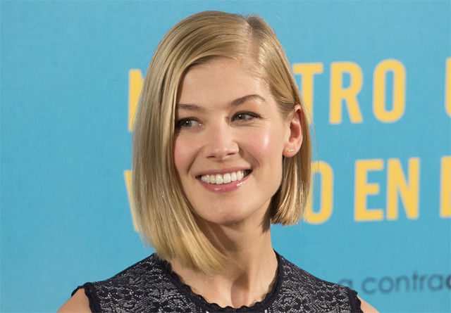 Rosamund Pike Circling the Lead Role in Mike Newell's Guernsey.