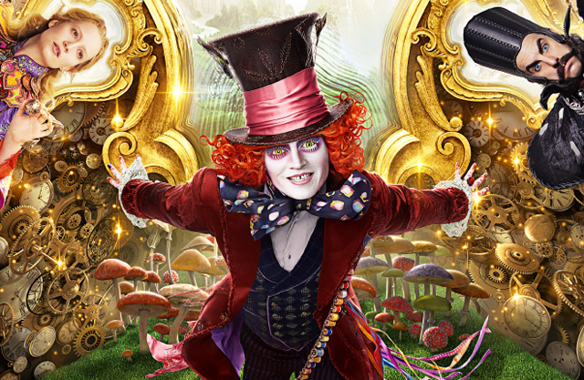 The New Alice Through the Looking Glass Poster.