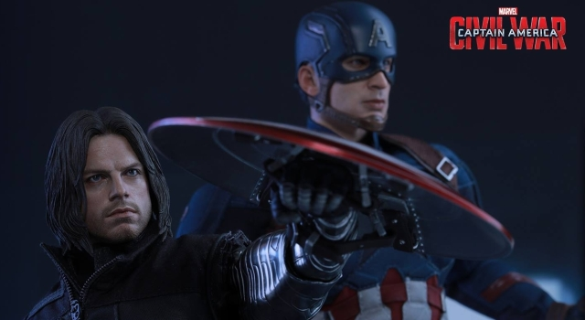 Captain America: Civil War Hot Toys Photos Released, Including Your Bucky.