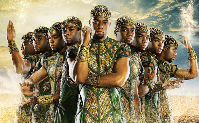 Exclusive Gods of Egypt Clip: Many Chadwick Bosemans are Better Than One.