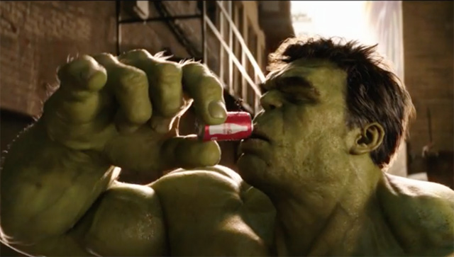 Ant-Man and The Hulk Star in Coca-Cola Super Bowl Commercial.