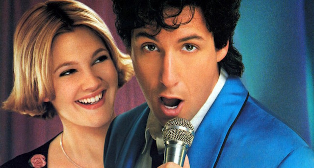 The Wedding Singer is another key one of the Drew Barrymore movies.