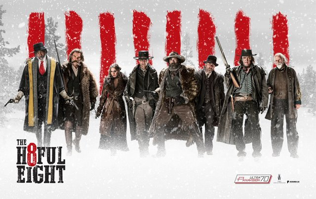 12 Westerns Featuring the Hateful Eight Cast