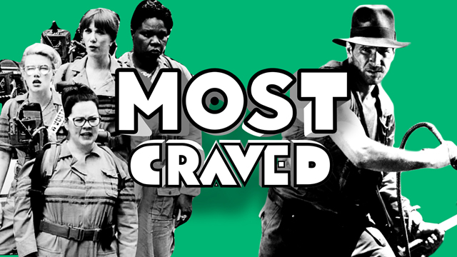 Watch the latest episode of Most Craved for a discussion about 10 Cloverfield Lane, Indiana Jones 5 and more!