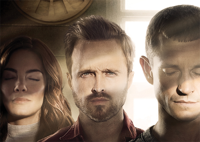 New The Path Art Features Aaron Paul in a Dangerous Cult