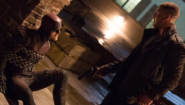 Punisher Vs Daredevil In A Behind The Scenes Featurette