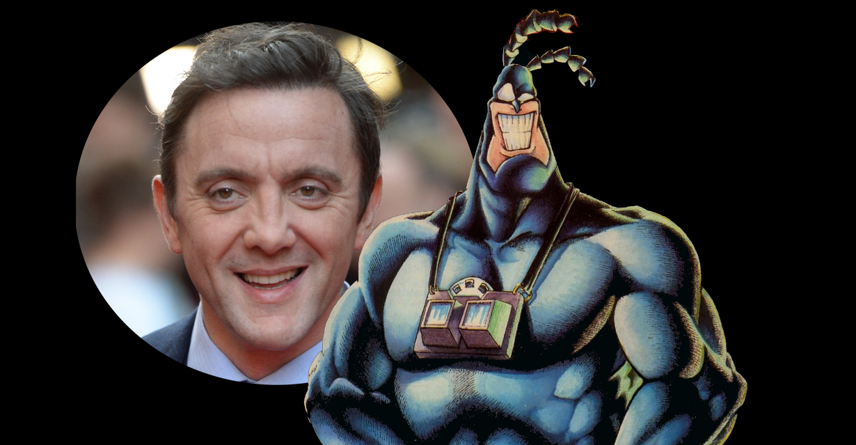 Peter Serafinowicz is set to play the title role on The Tick, the new live action take on Ben Edlund's comic book hero that is headed to Netflix.