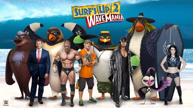 Surf's Up 2: WaveMania Casts WWE's John Cena, Triple H & More
